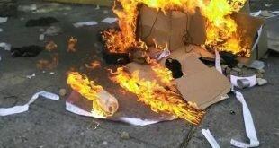 Oposición apeló nuevamente a violencia terrorista para tratar de impedir derecho al voto
