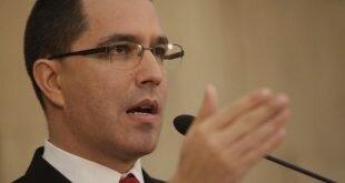 Canciller Arreaza denuncia plan de la UE para atacar la democracia venezolana