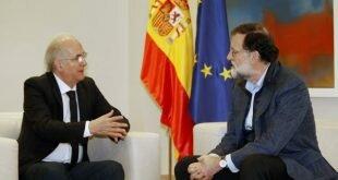 Gobierno Nacional rechaza reunión de Rajoy con prófugo Ledezma en Madrid